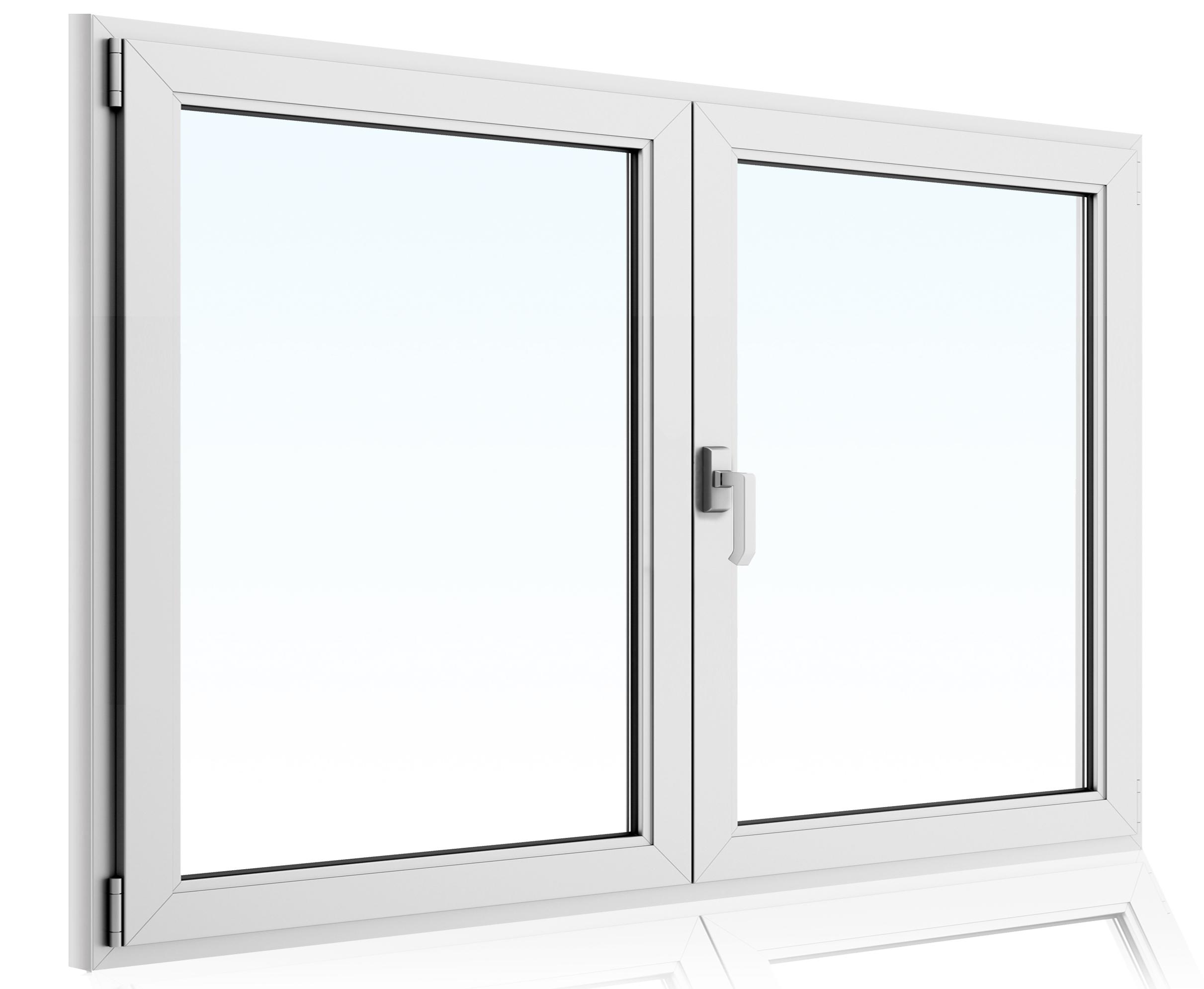 kunstofffenster fenster pvc 2 fl gel dreh kipp 230 cm breite alle h he wei ebay. Black Bedroom Furniture Sets. Home Design Ideas